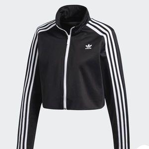 Adidas Cropped Track Jacket